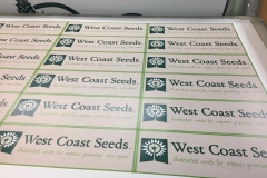 WEST COAST SEEDS DECALS