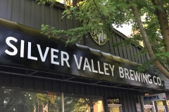 SILVER VALLEY BREW SIGN
