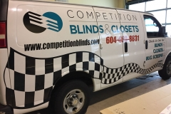 Van lettering graphics