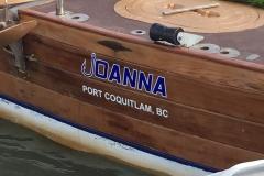 Marine lettering graphics
