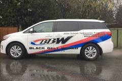 Vehicle lettering graphics