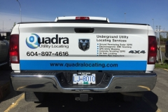 QUADRA TAILGATE GRAPHICS