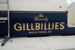 Boat lettering graphics