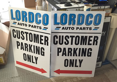 SIGNS AND DECALS